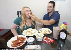 Weight Gain Feeder tammy jung 23 feeds on 5000 calories a day through a funnel in to become an obese