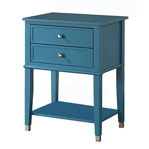 blue two drawer accent table at big lots for the home