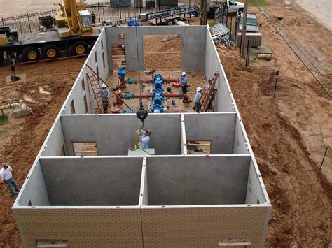 Precast Concrete Pump House Buildings   Wastewater