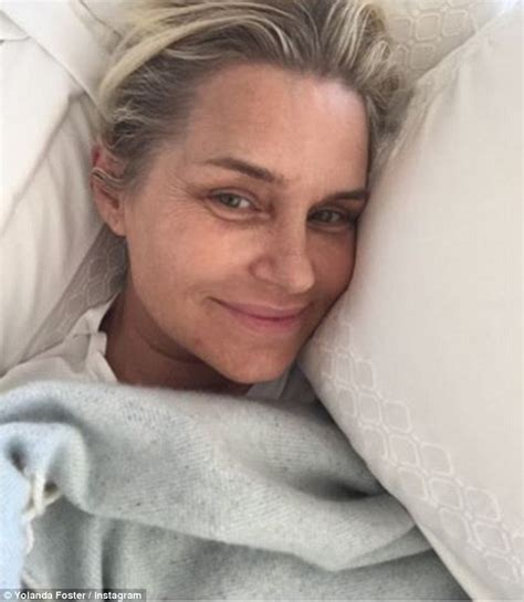 yolanda foster shape face yolanda foster chops off her hair while battling lyme