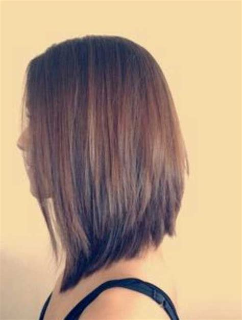 inverted shoulder length bob haircut 27 beautiful long bob hairstyles shoulder length hair