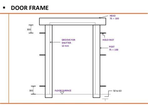 how to build door frame interior doors and windows building construction