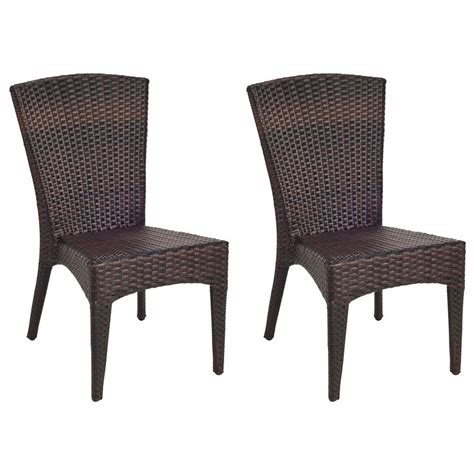 tiger chair safavieh new tiger stripe aluminum frame wicker patio side