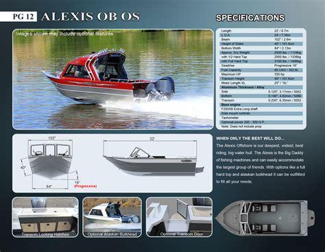 offshore aluminum boat manufacturers alexis offshore aluminum boat manufacturer thunder jet