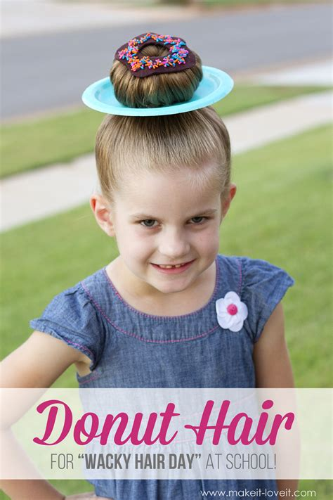 Hair Day 25 clever ideas for wacky hair day at school