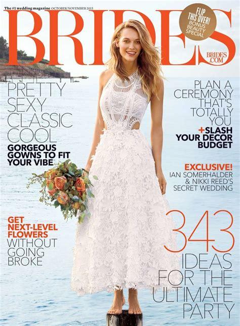 Bridal Magazines by ханна фергюсон Ferguson в фотосессии Brides