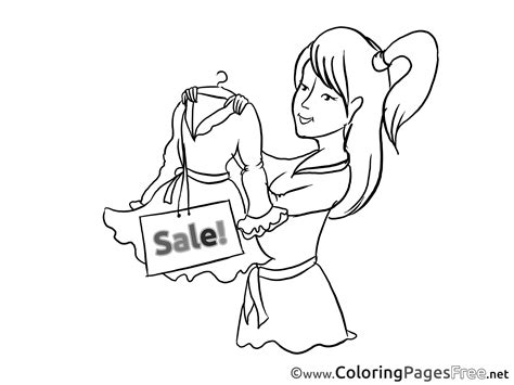 coloring book sales dress sales business coloring pages