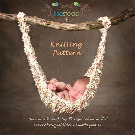 how to knit a hammock rockabye baby hammock knitting pattern pdf number 103 by