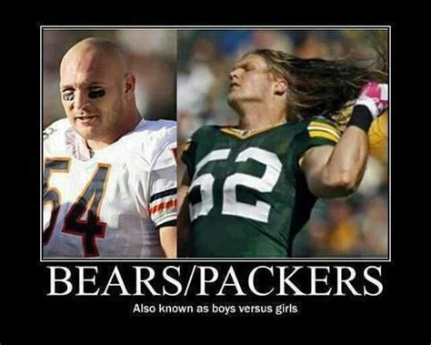 Bears Packers Meme - bears vs packers rivalry meme
