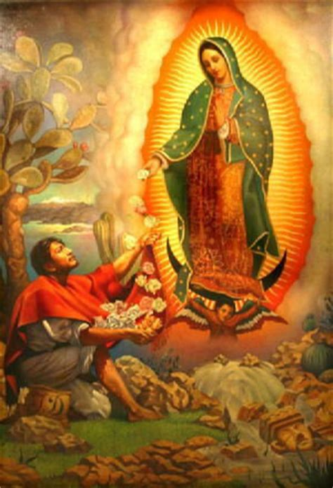 imagenes de la virgen maria con juan diego our lady of guadalupe patroness of the new evangelization