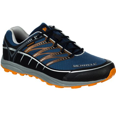 mens waterproof trail running shoes merrell mix master 2 waterproof trail running shoe s