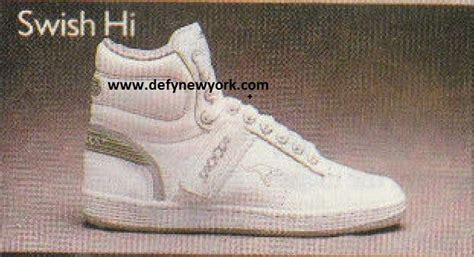 kangaroo basketball shoes kangaroos swish hi basketball shoe 1988 defy new york