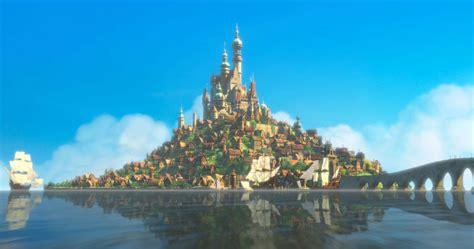 disney kingdom wallpaper rapunzel s castle from disney s tangled desktop wallpaper