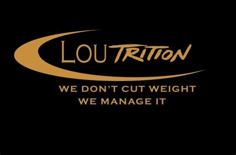 weight management specialist ufc s newest weight manager lou giordano on his approach