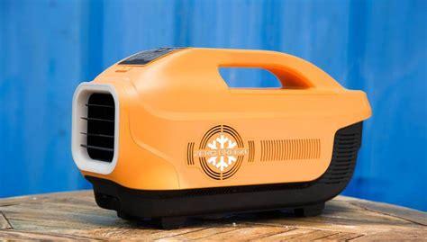 portable air conditioner runs battery zero breeze a battery powered portable air conditioner