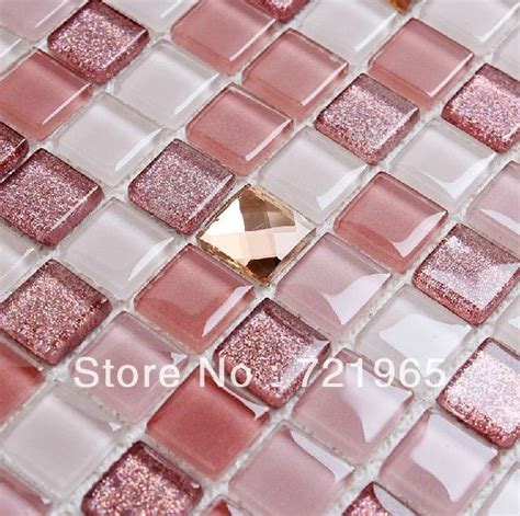 pink tiles bathroom best 25 glass mosaic tiles ideas on pinterest green kitchen tile inspiration