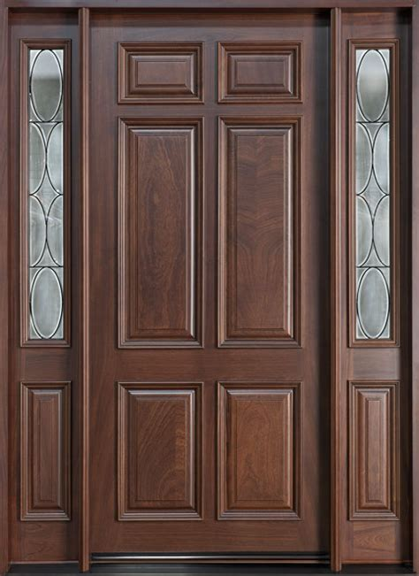 solid wood doors exterior wood entry doors from doors for builders inc solid
