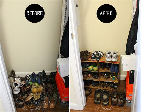 diy mens shoe rack spusht shoe rack from milk boxes for zero dollars
