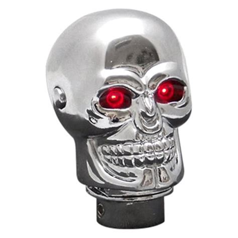 Shift Knob Skull by American Shifter 174 Chrome Skull Custom Shift Knob