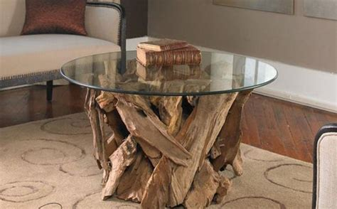 unique coffee table decor furniture glass top coffee table design in eco style