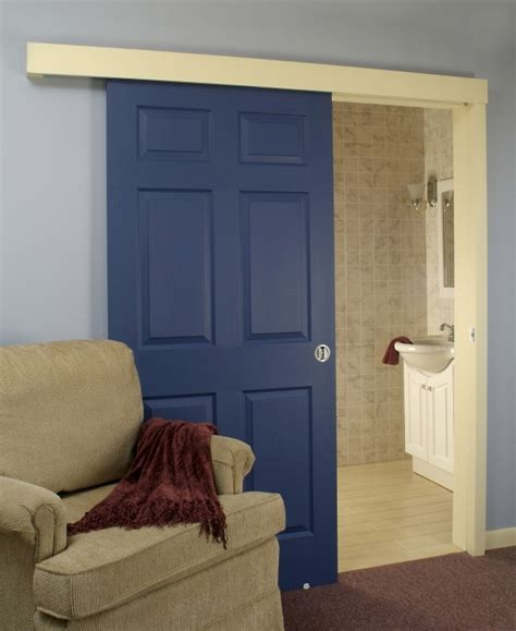 hanging doors on tracks ingenious door sliding system for saving valuable space in