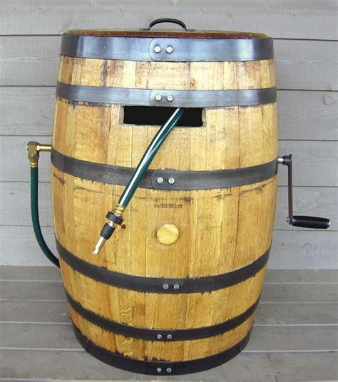 garden hose container storage whiskey barrel garden hose reel attractive garden hose