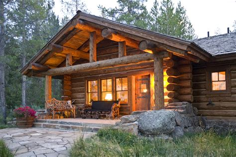 log cottage lost creek cabin teton heritage builders
