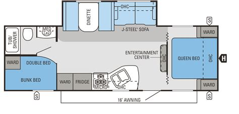 Passport Rv Floor Plans by Jayco Rv 2014 Jay Flight Swift 267bhs Uaprism Com