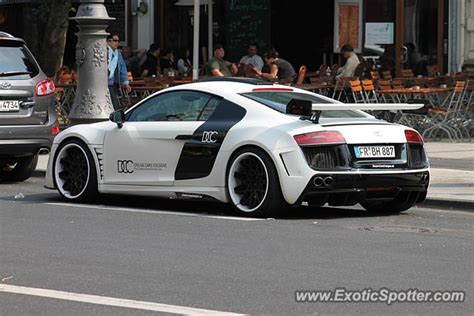 Audi Cologne by Audi R8 Spotted In Cologne Germany On 08 04 2013