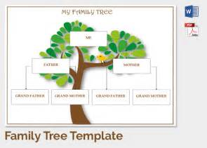 free family tree template family tree template 37 free printable word excel pdf