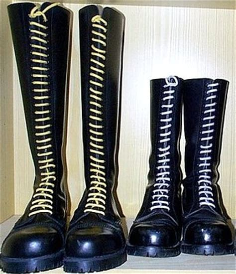 boots ladder lacing