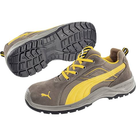 Safety Shoes Kwd912 Size 44 safety shoes s1p size 44 brown yellow safety omni