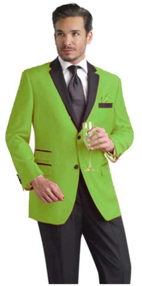 light colored tuxedos green prom suit dress yy