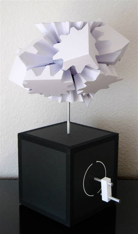 Gear Papercraft - gear cube papercraft 03 by nero on on deviantart