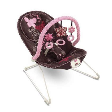 Bouncer Butterfly fisher price mocha butterfly bouncer features vibrations