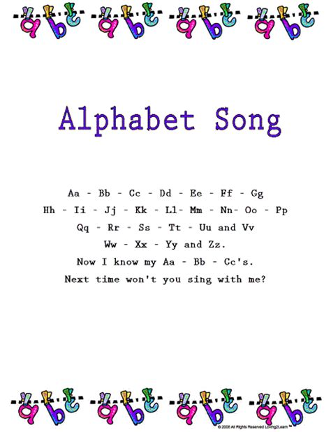 Letter Song Free Coloring Pages Of Letterland Alphabets