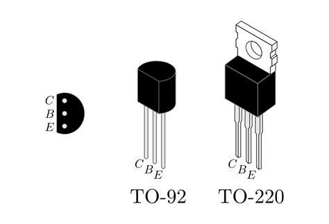 transistor npn anschluss transistoren grundwissen elektronik