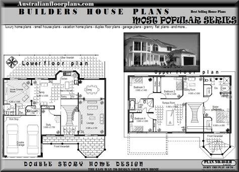modern two story house plans 2 storey modern house design with floor plan modern house