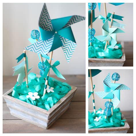 Decoration De Table Pour Bapteme Garcon by Deco Bapteme Garcon Bleu Turquoise Et Marron