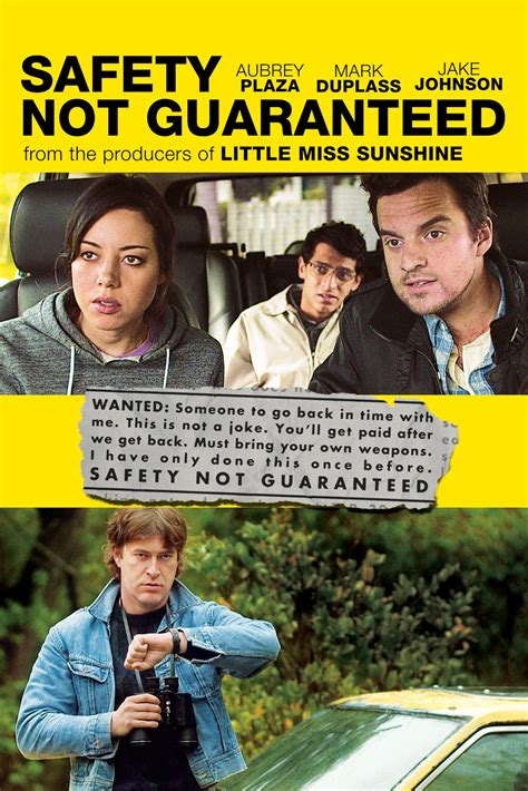 Safety Not Guaranteed Meme - department of entertainment safety not guaranteed