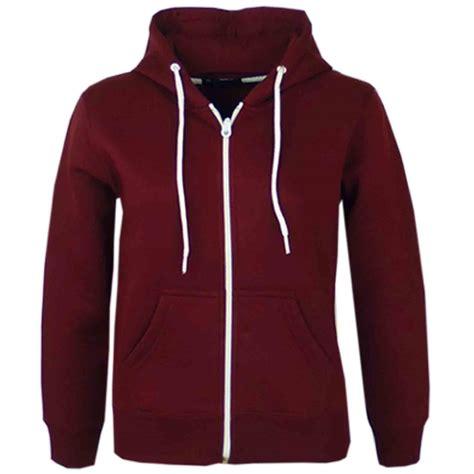 Hoodie Zipper Mancing Mania Fb boys unisex plain fleece hoodie zip up style zipper age 5 13 years ebay
