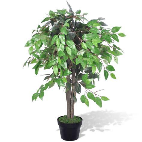 zimmerpflanzen ranken vidaxl co uk artificial plant ficus tree with pot 90 cm