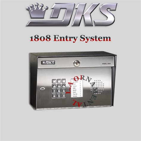 doorking 1808 084 surface mount telephone entry system