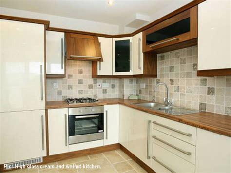 Walnut High Gloss Kitchen by Tri Plan Kitchens Tri Plan