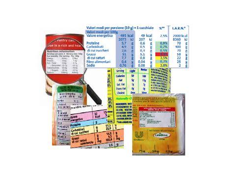 alimentazione personalizzata leggere le etichette dieta zona personalizzata