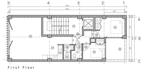Brick House Floor Plans gallery of brick pattern house alireza mashhadmirza 26