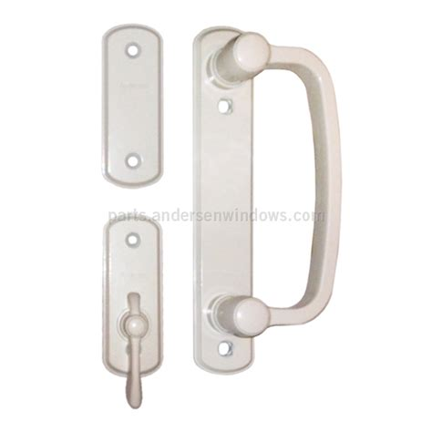 Andersen Patio Door Lock Andersen 174 Gliding Patio Door Hardware Interior Trim Set 9007554 Andersen Windows And Doors