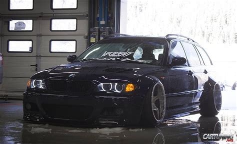 stanced bmw   touring