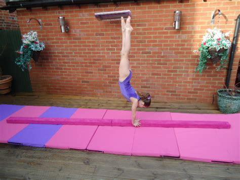 folding gymnastics balance beam 3 0 mtrs 10ft pink