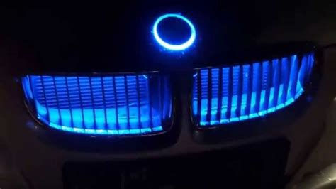 bmw emblem led logo xenon badge emblemat